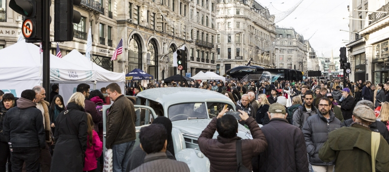 More than half a million flock to Regent Street Motor Show