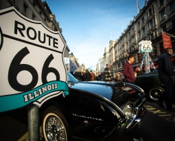 Huge crowds savour motoring past and present on Regent Street