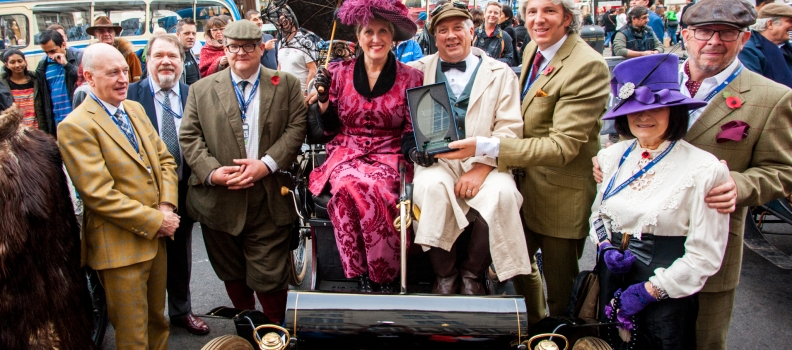 Winners of the EFG International Concours d'Elegance 2015