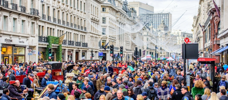 Regent Street Motor Show celebrates the past, present and future of the car