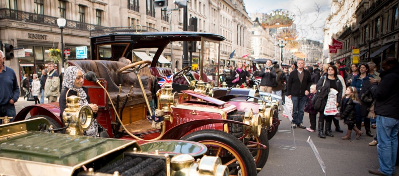 Remember, remember, The Regent Street Motor Show on Saturday November 5th