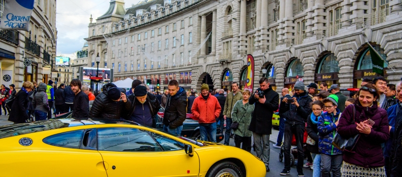 Jaguars to roar on Regent Street