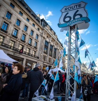 Get your kicks on Route 66… via Regent Street!