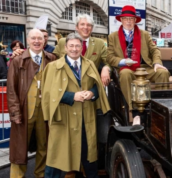 Alan Titchmarsh to present prizes on Regent Street