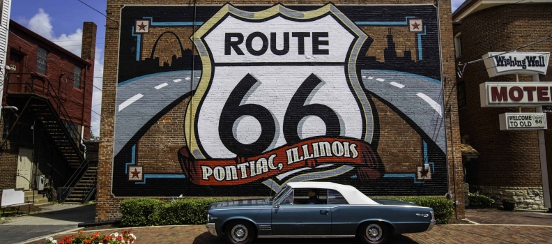 Rev up at the Regent Street Motor Show with Illinois and Route 66