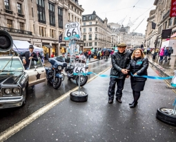 Evolution of motoring celebrated on Regent Street