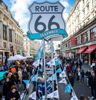 Celebrating motoring's past, present and future on Regent Street