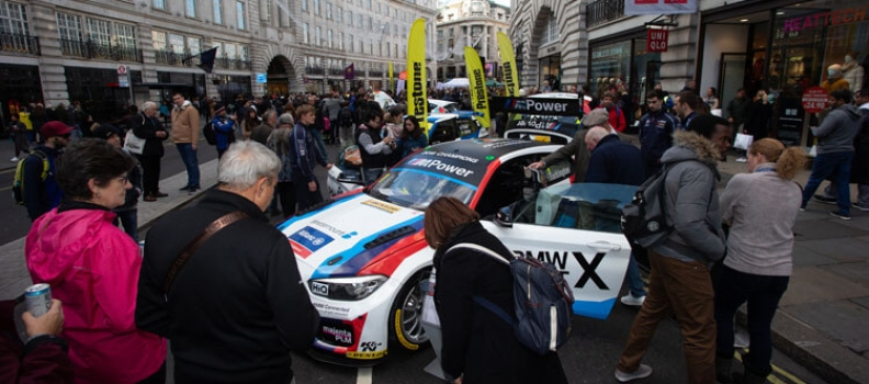 Motorsport Zone fuels excitement on Regent Street